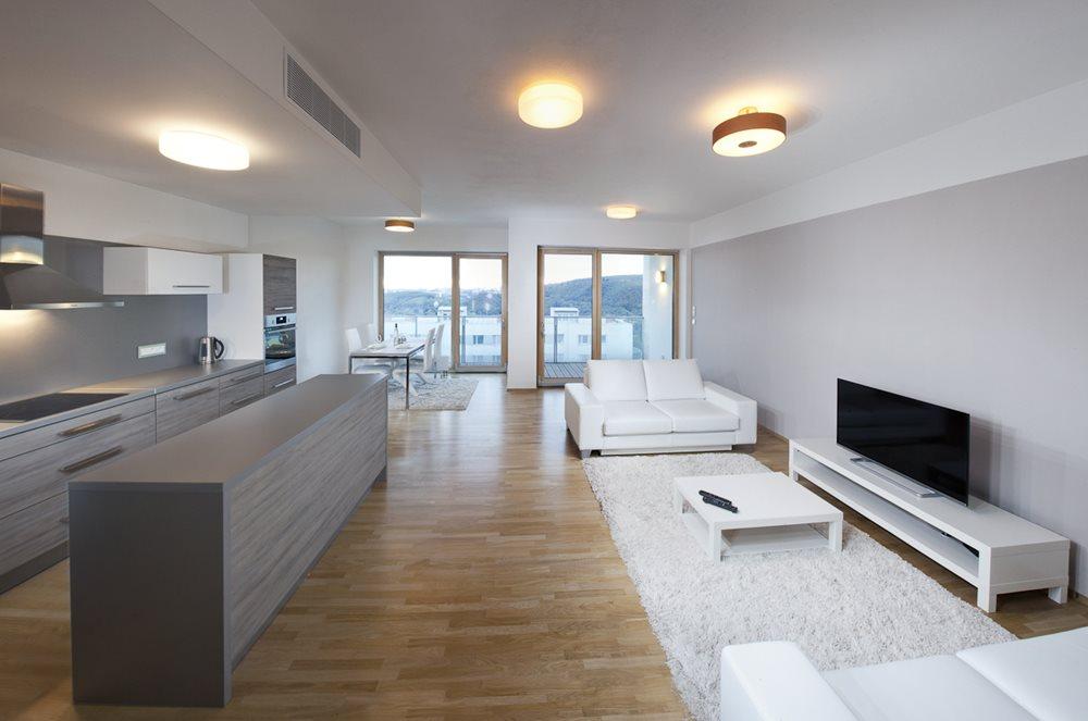 Brno design apartments luxusn pron jem na skv l adrese for Design apartment udolni brno